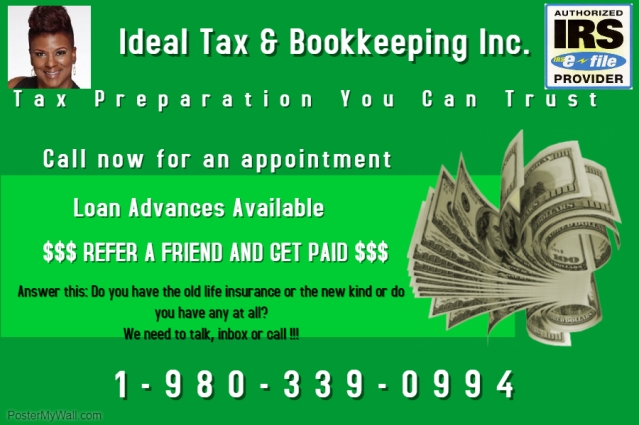 Copy of tax preparation